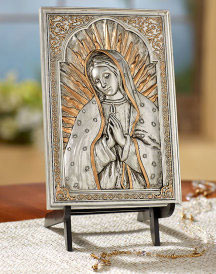 Virgin of Guadalupe Plaque