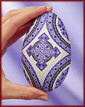 Pysanky: The Fine Art of Easter Egg Painting, Watch this online video to see how egg artist S.J. LeBlond creates an Easter egg masterpiece in the classic Ukrainian tradition.